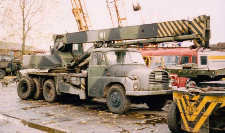 TATRA - Lorry Mounted Crane