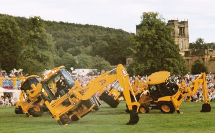 JCB Display Team