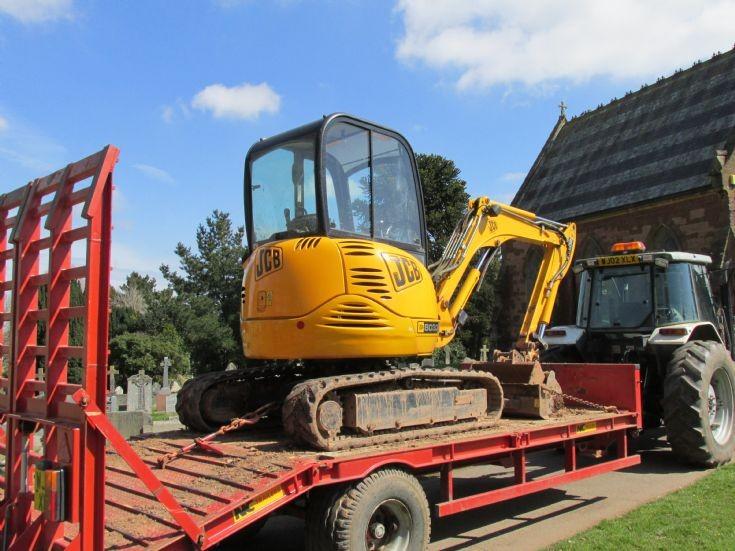 JCB 8030 excavator