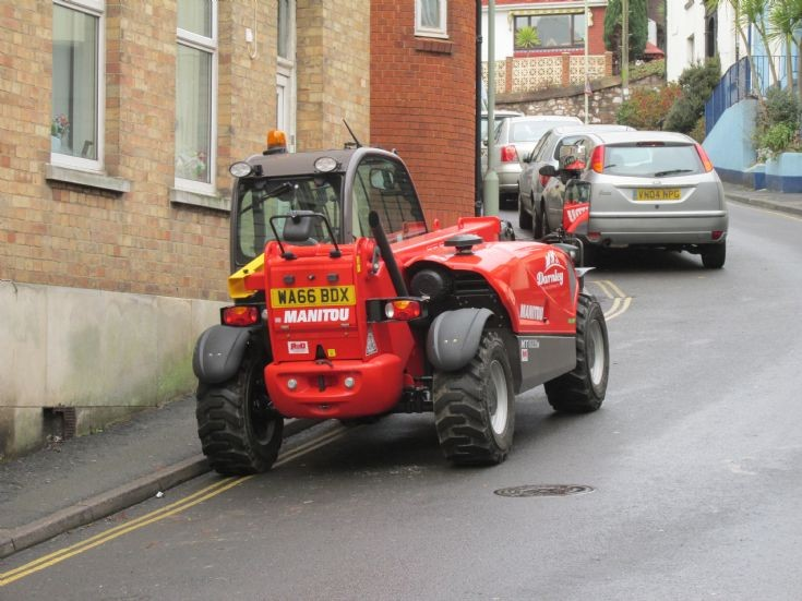 Darnley's Manitou loader