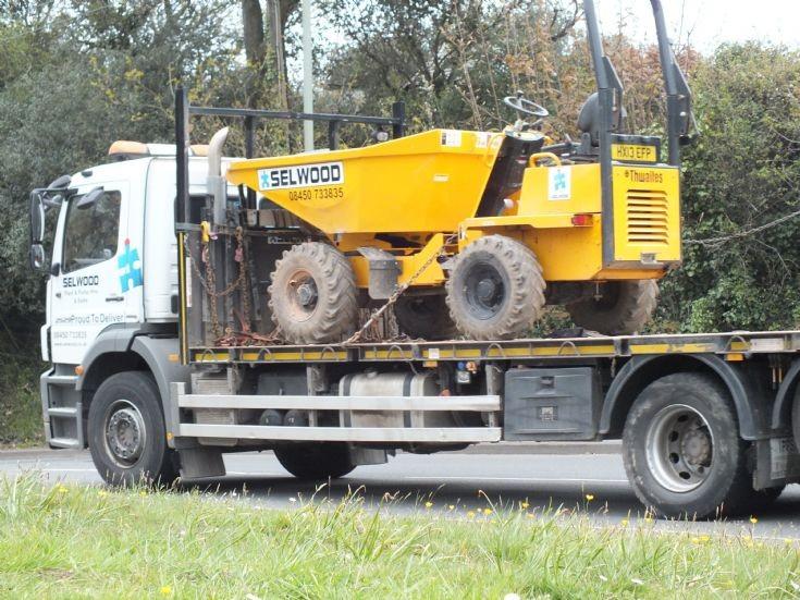Selwood's Thwaites 1 tonne dumper