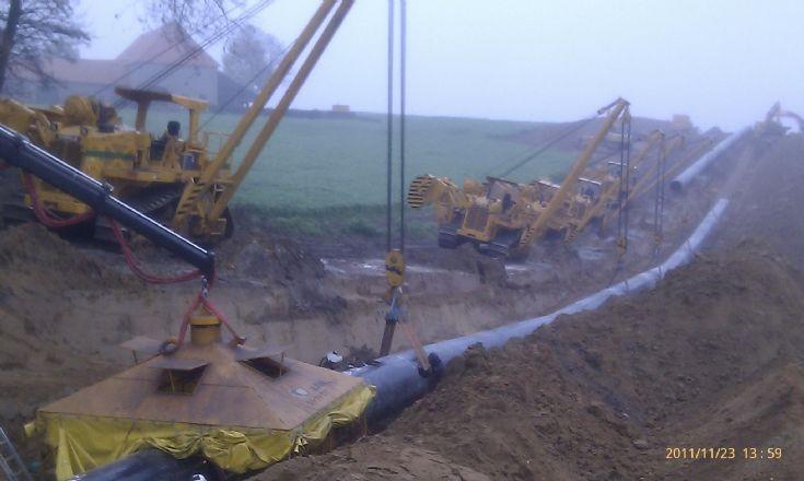 48'' Gas pipeline A.Hak Pipelines.