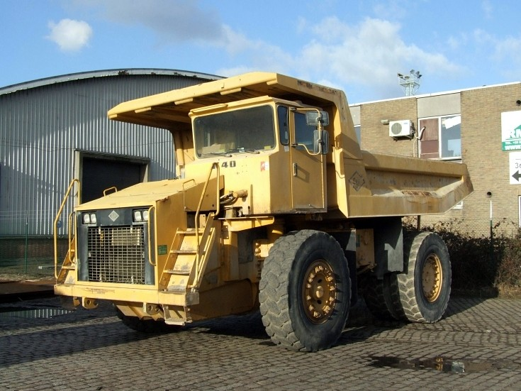 O&K K40 off road dump truck