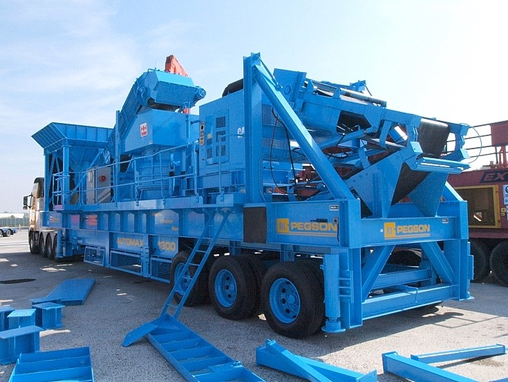 Used Pegson Automax 1300 cone crusher