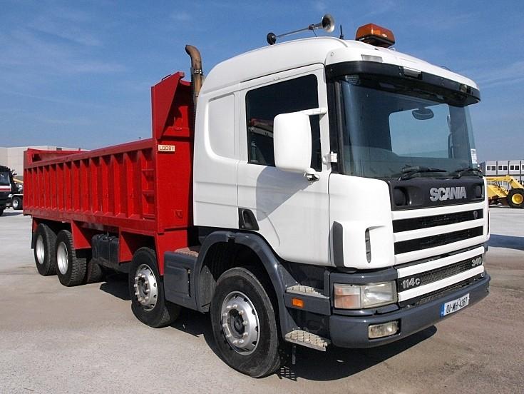 Scania 114c 340 dump truck