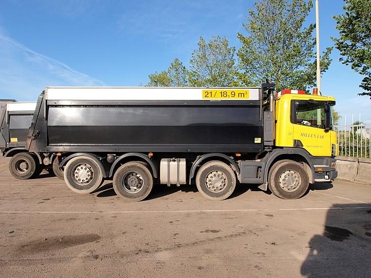 Scania 114g 380 Truck owne by Millenaar