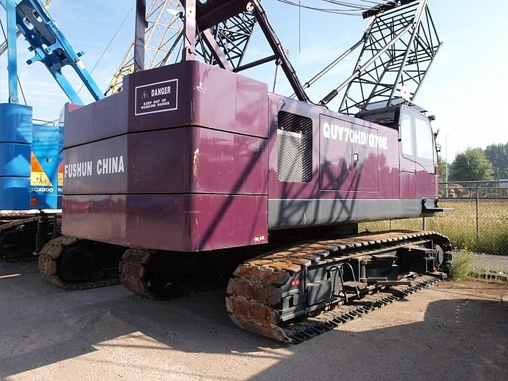 QUY70HD/Q70E hydraulic crawler crane