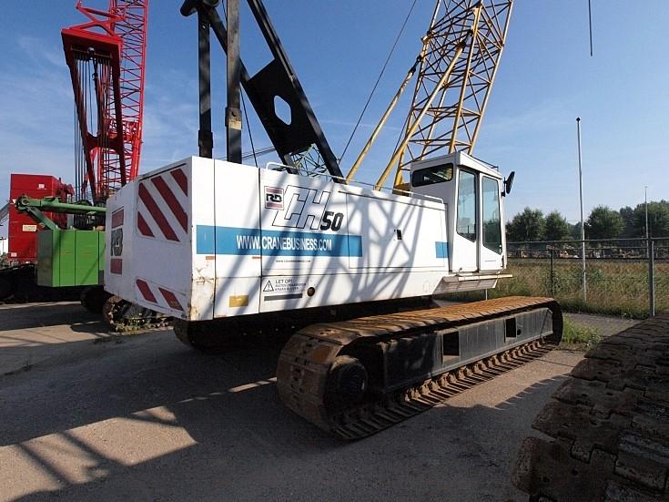 RB Cranes - CH50 hydraulic crawler crane