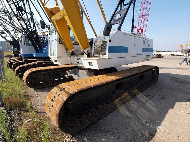 RB Cranes CH50 50 ton capacity crane